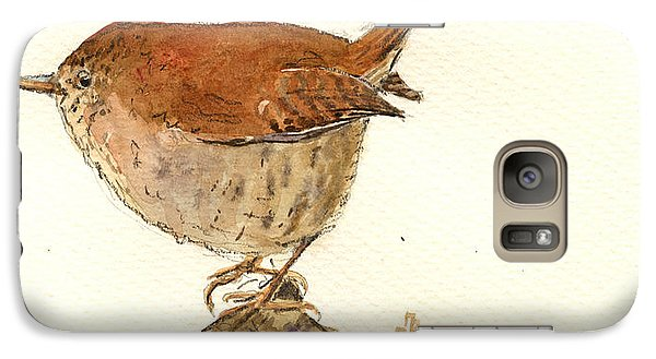 Wren Bird Galaxy S7 Case by Juan  Bosco