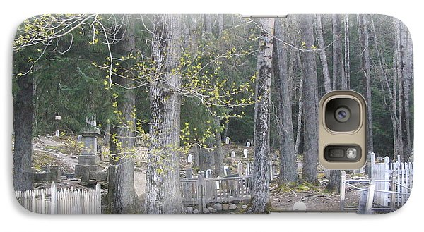 Galaxy Case featuring the photograph 300yr Cemetery by Brian Williamson
