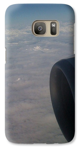 Galaxy Case featuring the photograph 33000 Feet by Mark Alan Perry