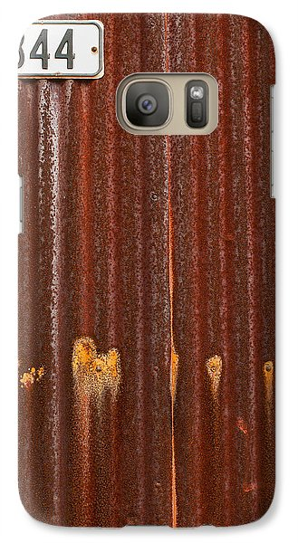 Galaxy Case featuring the photograph 344 And Rust by Gary Slawsky