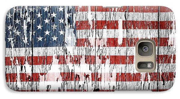 American Flag Galaxy S7 Case