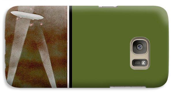 American Beaver Swimming Galaxy S7 Case by Yva Momatiuk John Eastcott