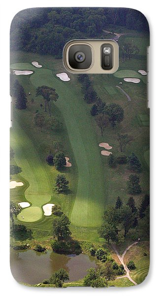 Galaxy Case featuring the photograph 3rd Hole Sunnybrook Golf Club 398 Stenton Avenue Plymouth Meeting Pa 19462 1243 by Duncan Pearson