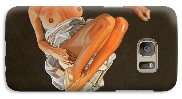 Galaxy Case featuring the painting 4 30 Am by Thu Nguyen