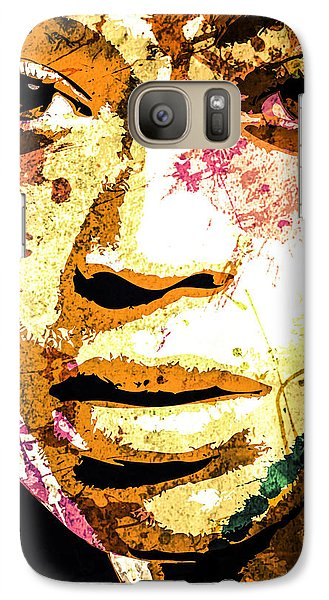 Galaxy Case featuring the digital art Beyonce by Svelby Art