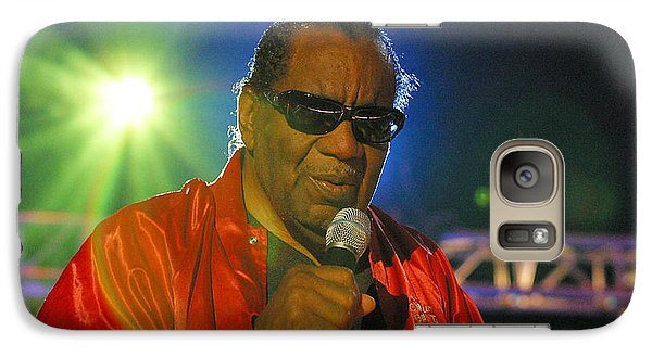 Galaxy Case featuring the photograph Blind Boys Of Alabama by Don Olea