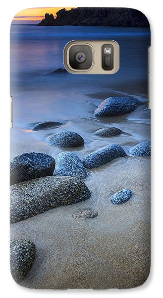 Galaxy Case featuring the photograph Campelo Beach Galicia Spain by Pablo Avanzini