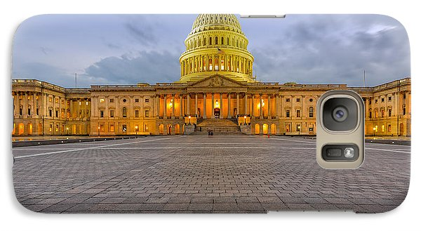 Galaxy Case featuring the photograph Capitol Building by Peter Lakomy
