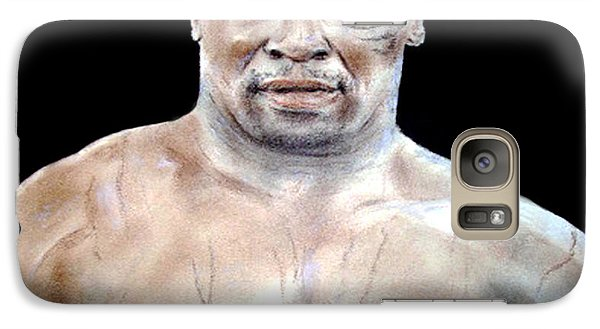 Galaxy Case featuring the painting Champion Boxer And Actor Mike Tyson by Jim Fitzpatrick