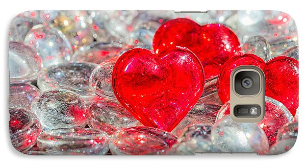 Crystal Heart Galaxy S7 Case