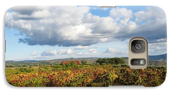 Galaxy Case featuring the photograph Douro River Valley by Arlene Carmel