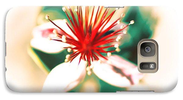 Galaxy Case featuring the photograph Flower by Gunter Nezhoda