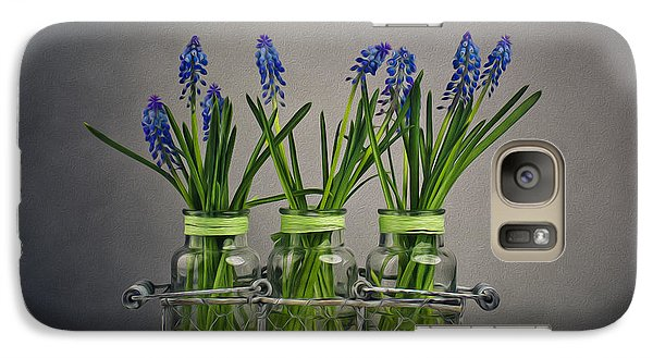 Hyacinth Still Life Galaxy S7 Case