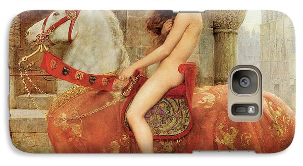 Galaxy Case featuring the painting Lady Godiva by John Collier
