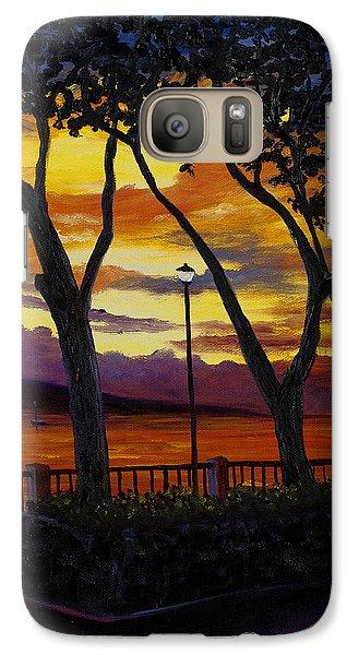 Lahaina Sunset Galaxy S7 Case