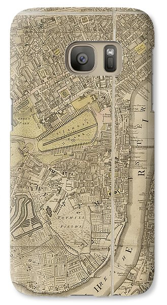 London Galaxy S7 Case by British Library