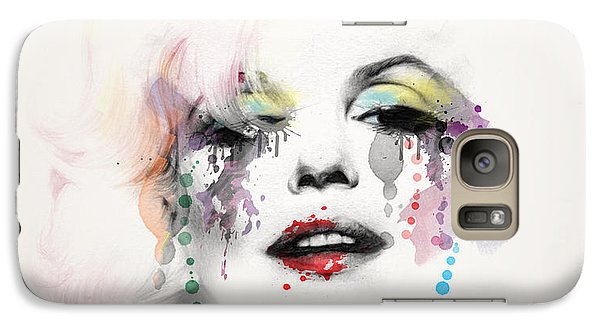 Marilyn Monroe Galaxy S7 Case by Mark Ashkenazi