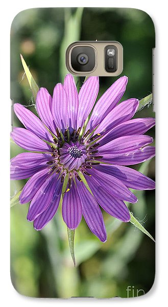Galaxy Case featuring the photograph Salsify Flower by George Atsametakis