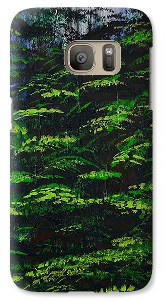 Galaxy Case featuring the painting 4 Seasons Summer by P Dwain Morris