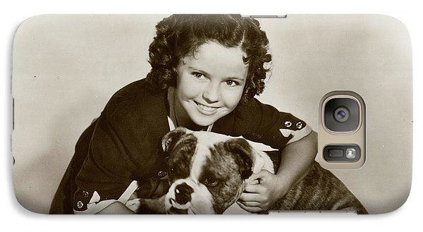 Shirley Temple (1928 -2014), American Galaxy S7 Case