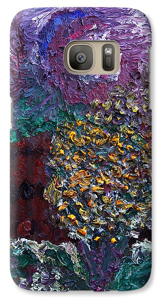 Galaxy Case featuring the painting Spring In New Jersey by Vadim Levin