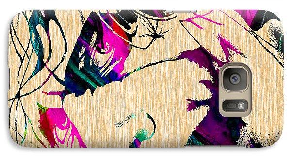 The Joker Heath Ledger Collection Galaxy Case by Marvin Blaine