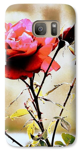Galaxy Case featuring the photograph 40 Something by Faith Williams