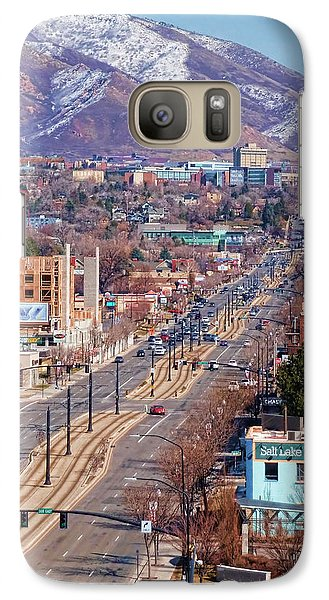 Galaxy Case featuring the photograph 400 S Salt Lake City by Ely Arsha