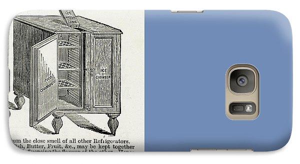 Adelie Penguins Jumping Galaxy S7 Case by Yva Momatiuk John Eastcott