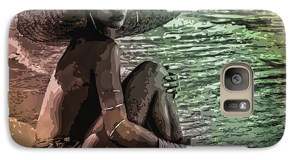 Rihanna Galaxy S7 Case by Svelby Art