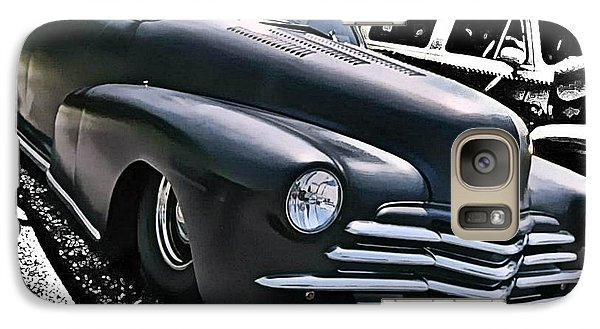 Galaxy Case featuring the photograph '47 Chevy Lowrider by Victor Montgomery