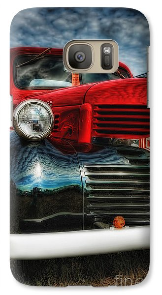 Galaxy Case featuring the photograph 47 Dodge Pickup by Trey Foerster