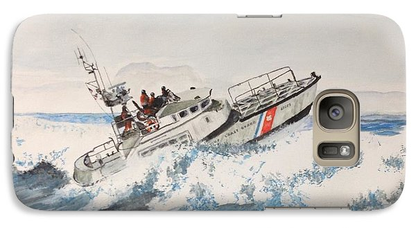 Galaxy Case featuring the painting 47' Life Boat by Stan Tenney