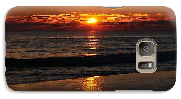 Galaxy Case featuring the photograph 48 Degrees At The Beach by Michele Kaiser