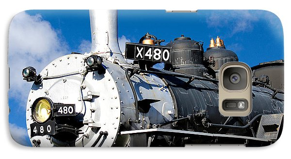 Galaxy Case featuring the photograph 480 Locomotive by Sylvia Thornton