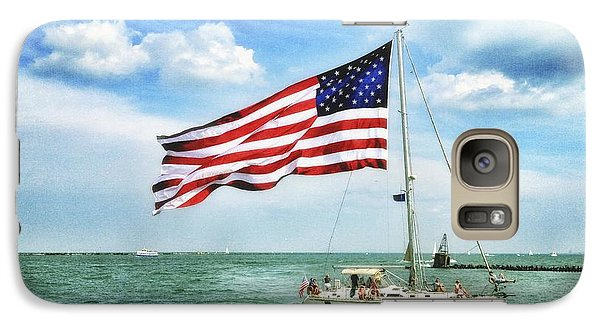 4th Of July - Navy Pier - Downtown Chicago Galaxy S7 Case