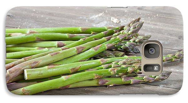 Asparagus Galaxy S7 Case by Tom Gowanlock