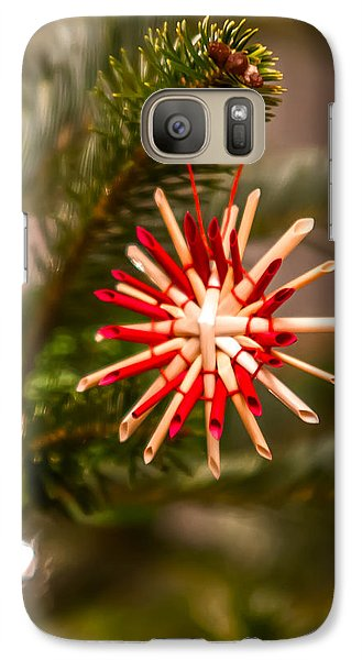 Galaxy Case featuring the photograph Christmas Tree Ornaments by Alex Grichenko