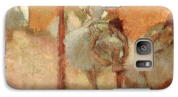 Dancers Galaxy Case by Edgar Degas