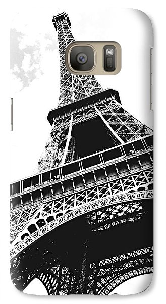 Eiffel Tower Galaxy Case by Elena Elisseeva