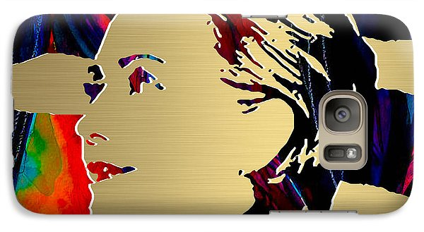 Hillary Clinton Gold Series Galaxy S7 Case by Marvin Blaine