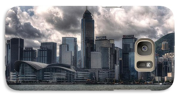 Galaxy Case featuring the photograph Hong Kong Harbour by Joe  Ng