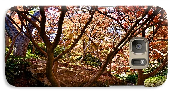 Galaxy Case featuring the photograph Japanese Gardens by Ricardo J Ruiz de Porras