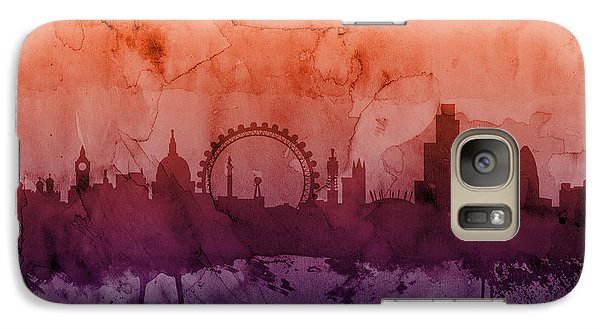 London England Skyline Galaxy S7 Case by Michael Tompsett