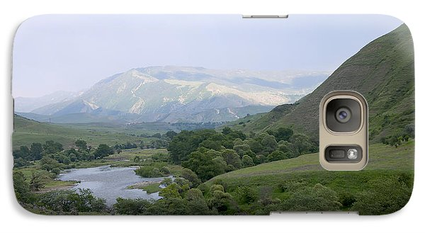 Galaxy Case featuring the photograph Nature by Gouzel -