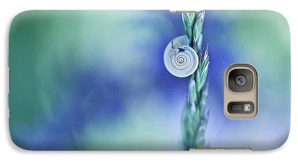 Smallmouth Bass Galaxy S7 Case - Snail On Grass by Nailia Schwarz