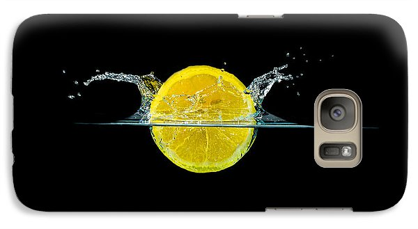 Splashing Lemon Galaxy S7 Case