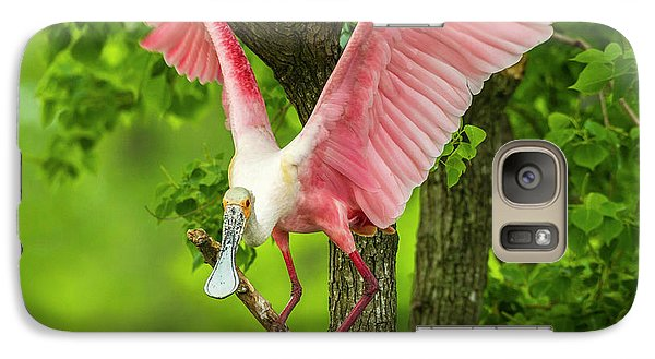 Usa, Louisiana, Jefferson Island Galaxy S7 Case