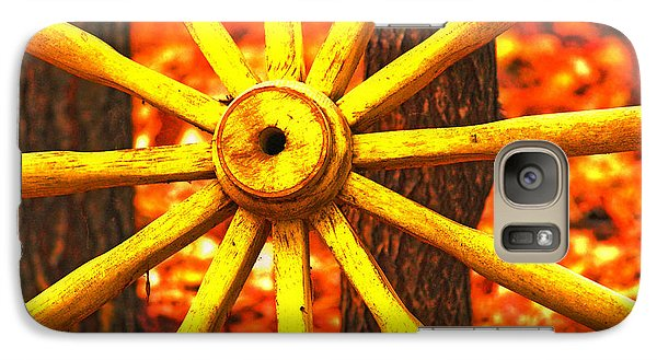 Galaxy Case featuring the photograph Wheels Of Time by Rowana Ray