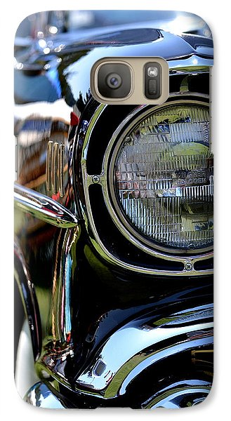 Galaxy Case featuring the photograph 50's Chevy by Dean Ferreira